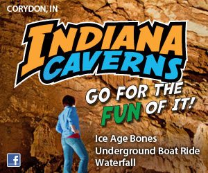 Indiana Caverns in Corydon, Indiana